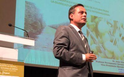 El experto y consultor estratégico Juan Vilar dará soporte a la FAO en materia de olivicultura