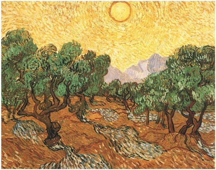 Vicent van Gogh, un post-impresionista enamorado del aceite de oliva y la aceituna de mesa