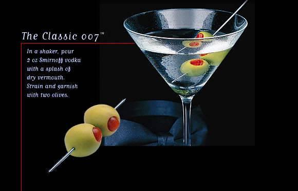 James Bond Martini Rezept