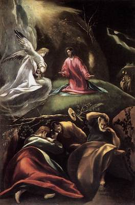 OLIVE TREES WERE SYMBOLS OF ETERNAL LIFE FOR EL GRECO