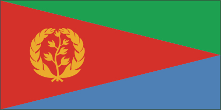 WHY DOES THE ERITREAN FLAG HAVE OLIVE BRANCHES ON IT?