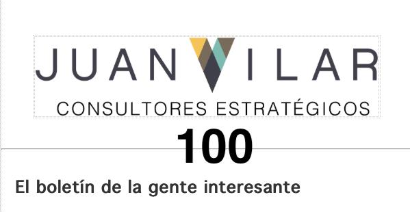 100 NEWSLETTER ACOMPAÑANDO A MÁS DE 15 MIL PERSONAS DE LOS 5 CONTINETES