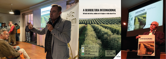THE BOOK INTERNATIONAL OLIVE GROWING PRESENTED IN PORTUGAL AND BRAZIL AT THE SAME TIME