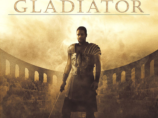 GLADIATOR: A SUPERPRODUCTION THAT COMES FROM AN OLIVE OIL ADVERTISEMENT